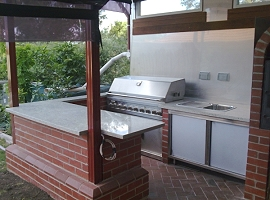 Marble BBQs &amp; Outdoor Areas<